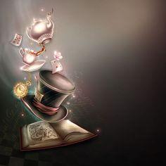 Lewis Carroll, Alice In Wonderland Theme, Alice In Wonderland Background, Alice Im Wunderland, Alice Madness Returns, Disney Art, Disney Love, Disney Pixar, Cheshire Cat