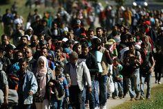 Die Polizisten an der Grenze sind von der Aktion überrascht worden. Die Migranten wollen nun weiter nach Nordeuropa. In diesem Jahr kamen…