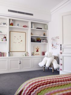 light airy children's bedroom via desire to inspire - desiretoinspire.net - Park House