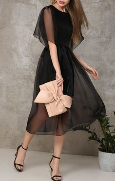 Swans Style is the top online fashion store for women. Shop sexy club dresses, jeans, shoes, bodysuits, skirts and more. Simple Dresses, Elegant Dresses, Pretty Dresses, Beautiful Dresses, Dress Outfits, Fashion Dresses, Dress Up, Elegant Outfit, Classy Dress