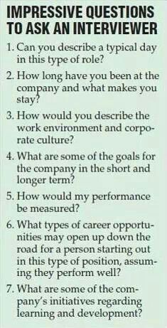 Job interview questions for the interviewer