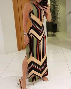 Excellent women dresses are readily available on our web pages. look at this and you will not be sorry you did. Strappy Maxi Dress, Backless Maxi Dresses, Maxi Dress With Slit, The Dress, Dress Lace, Chic Outfits, Dress Outfits, Casual Dresses, Fashion Dresses
