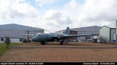 English Electric Canberra T4 - WJ874-G-CDSX by graham.wood.14661