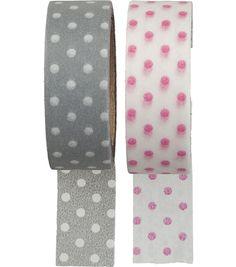 HEMA washi tape - stippen - 2 stuks – online – altijd verrassend lage prijzen!