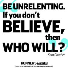 """""""Be Unrelenting"""" 