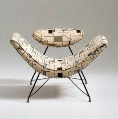 Martin Eisler lounge chair (1955)