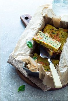 Savory-Summer-Squash-Zucchini-and-Carrot-Vegetable-Loaf-on-gourmandeinthekitchen.com