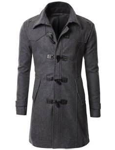 nice Mens Wool Duffle Coat - For Sale Check more at http://shipperscentral.com/wp/product/mens-wool-duffle-coat-for-sale-4/