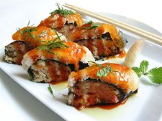 baked lobster sushi