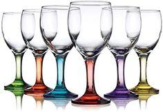 Carnival 10oz Assorted Colored Wine Glasses - Set OF 12 Klikel http://www.amazon.com/dp/B00M1B82B0/ref=cm_sw_r_pi_dp_Wr.wvb0N8XTX8