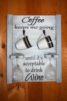 Hey, I found this really awesome Etsy listing at https://www.etsy.com/listing/501247199/coffee-mug-and-wine-glass-holder-coffee