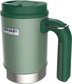 Keep drinks hot for 2.5 hours, cold for 4.5 hours or iced for 20 hours thanks to Stanley's Classic Vacuum Camp Mug's double-wall insulation.  Size:  16 oz.