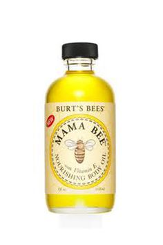 Best Beauty Products for Pregnant Women - Burt's Bees Mama Bee Nourishing Baby Oil, $8