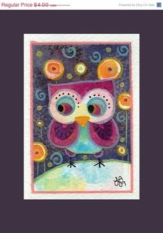owl kandindky style for applying the principled of design!!!