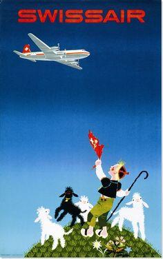 Schweizer Tourismus Plakate
