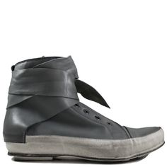 Ixos Grey High Top with Tie. Available at Head Start Shoes