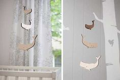 Fish & Whale Baby Mobiles | Apartment Therapy