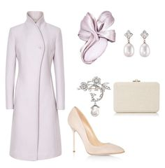 """Attending the wedding of her sister in law in Berkshire, England"" by dresslikearoyal on Polyvore featuring Reiss, Julia Failey, Sergio Rossi and Judith Leiber"
