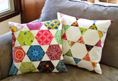 City House Studio - pillows cushions patchwork