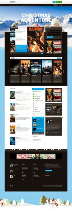 The Responsive Joomla template for Joomla 3 & Joomla 2.5 - JA Obelisk fits right in with the home entertainment, media and movies theme. It is built on the latest version of T3 Framework, supports EasyBlog component and styles for K2 component.