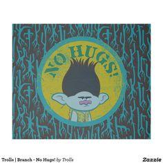 Trolls | Branch - No Hugs! Fleece Blanket