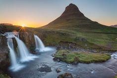 Midnight near Kirkjufell - Iceland