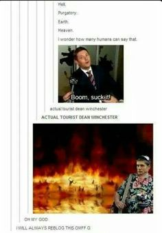 Image via We Heart It #dean #funny #post #tumblr #winchester
