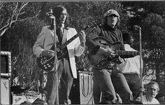 John Cipollina (left) at the Human Be-In - 1967