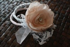 These fabric flower bracelets are so dainty and pretty!  I think this is a good substitute to a fresh flower corsage that will only last for a few days. You can also create these bracelets as a Christmas, Birthday, Anniversary, or Graduation presents.