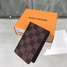 Louis Vuitton Damier Ebene Pocket Organiser LV N63145 - Louis Vuitton Handbags