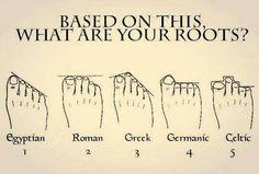 1/2 Greek & 1/2 Egyptian