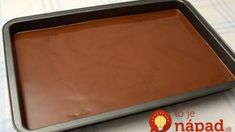 Mokrý koláč: Veľmi šťavnatý kávový koláčik s džemom a čokoládou!