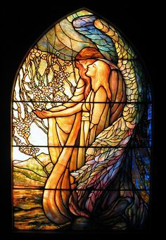 I love nothing more than a stained glass window. Ware you a fan?