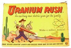 uranium rush board game Retro Toys, Vintage Toys, Retro Games, Rush Games, Global Weather, Manhattan Project, Baby Boomer, Vintage Board Games, Bronn