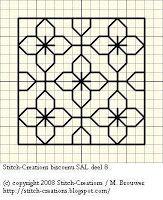 Stitch-Creations: Biscornu SAL deel 8