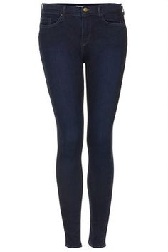 MOTO Blue Black Leigh Jeans - Jeans  - Clothing