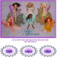 Tonka Toys Star Fairies Dolls