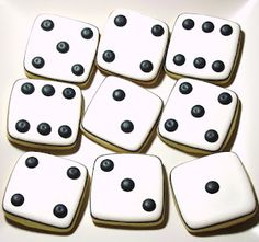 SugarBliss Cookies - Love the Dice! :)