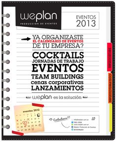 We Plan flyer corporativo