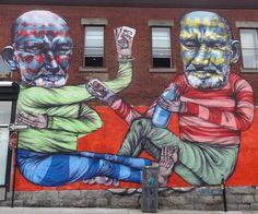 Mural Festival in Montreal