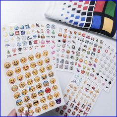 19-pack emoji stickers