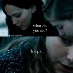 Katniss Everdeen and Peeta Kissing | katniss everdeen, hope, peeta mellark, the hunger games, catching fire ...