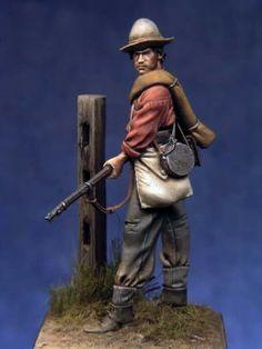Confederate infantry 1862 - Bill Horan