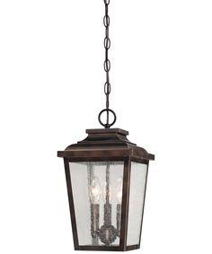 Minka Lavery 72174 Irvington Manor 3 Light Outdoor Hanging Lantern | Capitol Lighting 1-800lighting.com