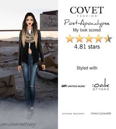 Post-Apocalypse @covetfashion  #covet #covetfashion #fashion #covetfall2015 #fall2015 #postapocalypse
