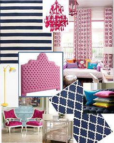 Flamingo Guest Bedroom Inspiration Decor Pink Bedrooms And