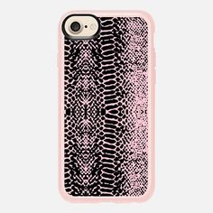 Sweet Snake - Funda New Standard Luxe #pink #snake #black #iphone #iphonecase ##iphonecover #casetify