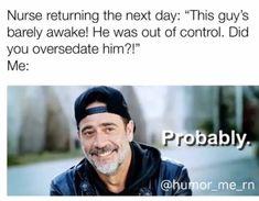 Nurse Jokes, Funny Nurse Quotes, Nursing Memes, Sarcastic Quotes, Work Jokes, Work Humor, Healthcare Memes, Night Shift Nurse, Nurses Station