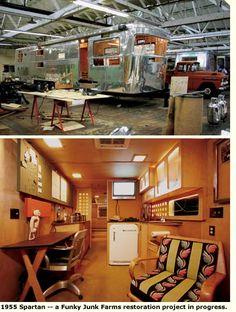 Gypsy Interior Design Dress My Wagon| Serafini Amelia| Travel Trailer-Interior Design Inspiration| 1955 Spartan Interior