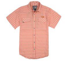 Playa Plaid Short Sleeve Vented Shirt